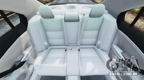 GTA 5 Honda Accord 2010 frente vista lateral direita