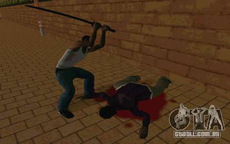 Sword of Blades para GTA San Andreas sétima tela