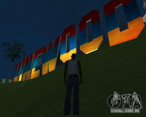 New Vinewood Armenia para GTA San Andreas segunda tela