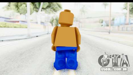 LEGO Carl Johnson para GTA San Andreas terceira tela