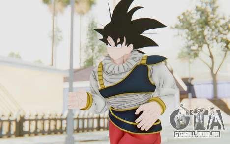 Dragon Ball Xenoverse Goku Yardrat Clothes para GTA San Andreas
