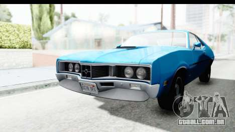 Mercury Cyclone Spoiler 1970 para GTA San Andreas vista direita