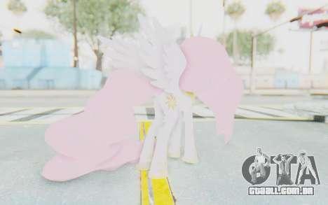 Princess Molestia MLP para GTA San Andreas terceira tela