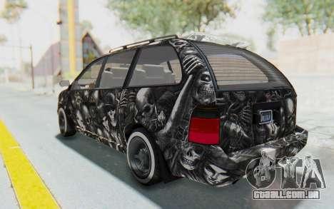 GTA 5 Vapid Minivan Custom without Hydro para GTA San Andreas