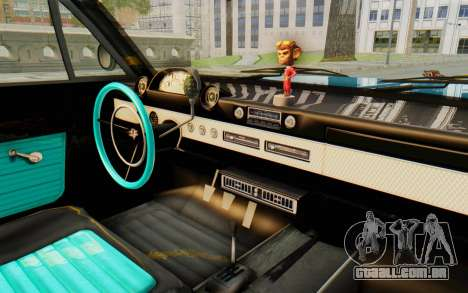 GTA 5 Declasse Voodoo PJ para GTA San Andreas vista interior