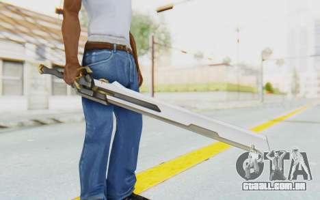 Seha Weapon para GTA San Andreas terceira tela