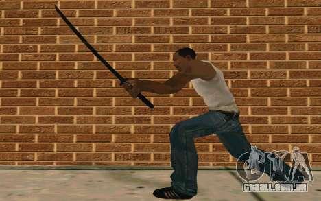 Sword of Blades para GTA San Andreas quinto tela