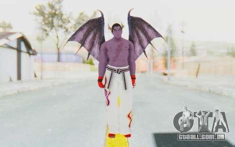 Devil Kazuya para GTA San Andreas segunda tela
