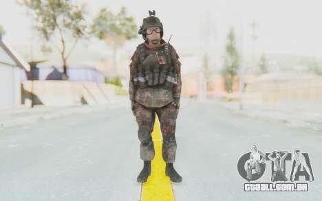 COD MW2 Russian Paratrooper v2 para GTA San Andreas segunda tela