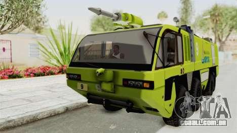 Rosenbauer Panther 8x8 Malaysia Airports para GTA San Andreas