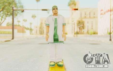 Def Jam Fight For New York - Sean Paul v1 para GTA San Andreas segunda tela