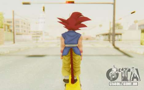 Dragon Ball Xenoverse Goku Kid GT SSG para GTA San Andreas terceira tela