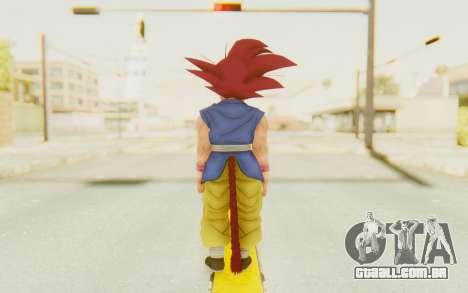 Dragon Ball Xenoverse Goku Kid GT SSG para GTA San Andreas terceira tela