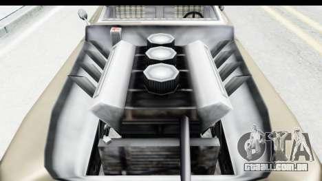 Hermes Ratrod para GTA San Andreas vista traseira