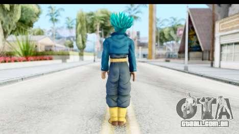 Dragon Ball Xenoverse Future Trunks SSGSS para GTA San Andreas terceira tela
