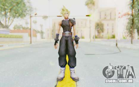 Final Fantasy - Cloud Deus para GTA San Andreas segunda tela