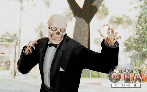 Skeleton in Tuxedo para GTA San Andreas