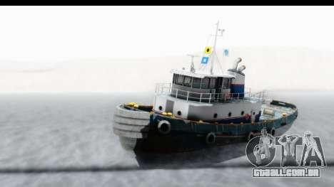GTA 5 Buckingham Tug Boat v2 IVF para GTA San Andreas