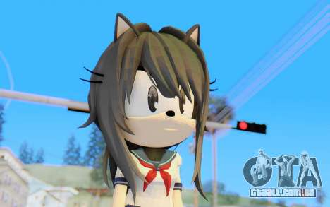 Yandere-Chan The Hedgehog para GTA San Andreas