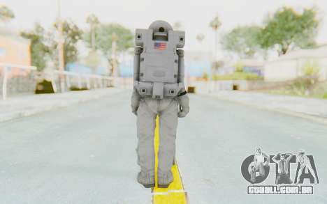 CoD Ghosts USA Spacesuit para GTA San Andreas terceira tela