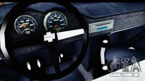 Chevrolet 3100 Diesel v2 para GTA San Andreas vista interior