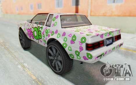 GTA 5 Willard Faction Custom Donk v3 IVF para GTA San Andreas