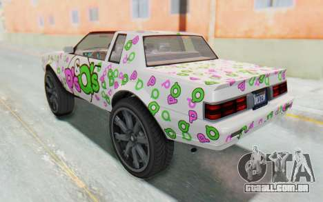 GTA 5 Willard Faction Custom Donk v3 para as rodas de GTA San Andreas