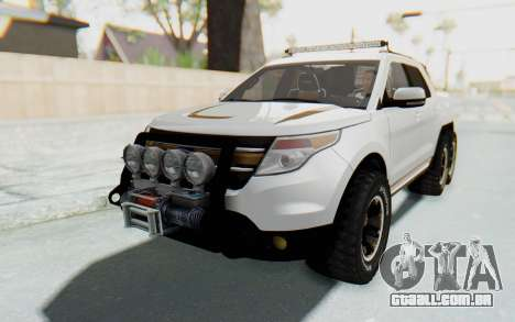 Ford Explorer Pickup para GTA San Andreas vista direita