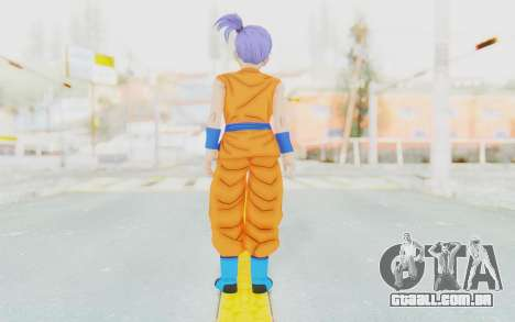Dragon Ball Xenoverse Female Saiyan SJ para GTA San Andreas terceira tela