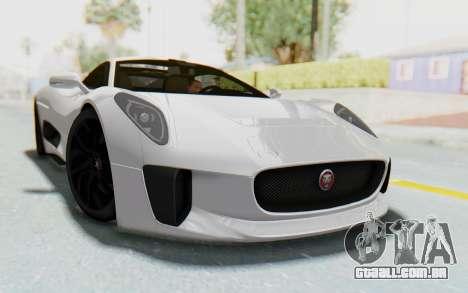 Jaguar C-X75 para GTA San Andreas