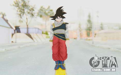 Dragon Ball Xenoverse Goku Yardrat Clothes para GTA San Andreas segunda tela