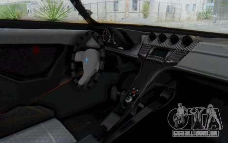 GTA 5 Grotti Prototipo v1 IVF para GTA San Andreas vista traseira