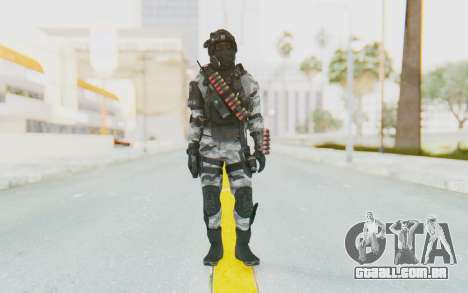 Federation Elite Shotgun Arctic para GTA San Andreas segunda tela