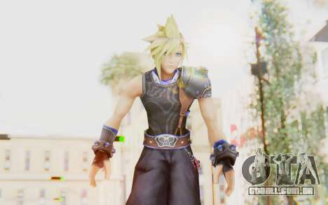 Final Fantasy - Cloud Deus para GTA San Andreas