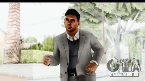 Messi Formal Fixed Up para GTA San Andreas