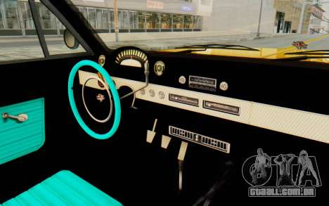 GTA 5 Declasse Voodoo PJ SA Lights para GTA San Andreas vista interior