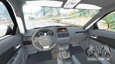 GTA 5 Lada Priora Sport Coupe v0.1 frente vista lateral direita