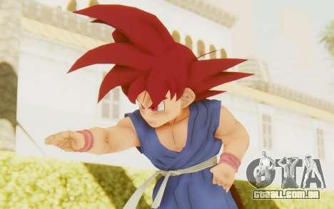 Dragon Ball Xenoverse Goku Kid GT SSG para GTA San Andreas