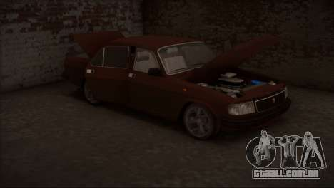 V8 de GÁS 31029 para GTA San Andreas vista interior