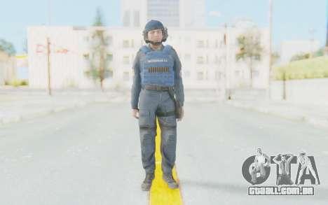 Interventna Jedinica Policije Srbije para GTA San Andreas segunda tela
