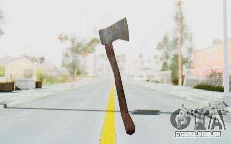 CoD Ghosts DLC Michael Myers Weapon para GTA San Andreas segunda tela