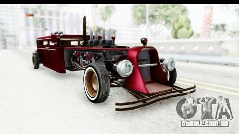 Unique V16 Fordor Ratrod para GTA San Andreas vista direita