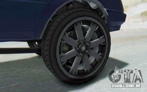GTA 5 Willard Faction Custom Donk v3 IVF para GTA San Andreas vista traseira