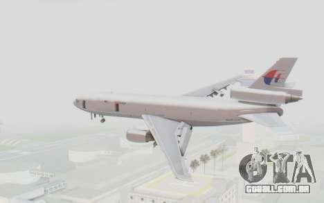 DC-10-30F MASkargo para GTA San Andreas vista direita