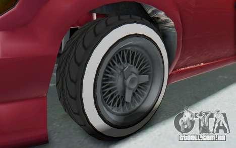 GTA 5 Vapid Minivan Custom without Hydro para GTA San Andreas vista traseira