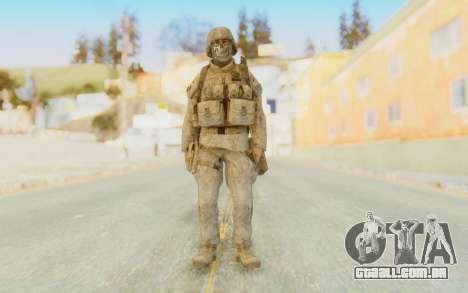 CoD MW2 Ghost Model v4 para GTA San Andreas segunda tela