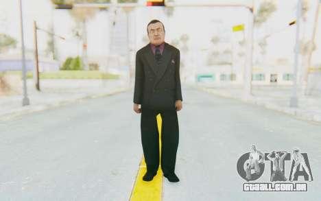 Mafia 2 - Wong para GTA San Andreas segunda tela