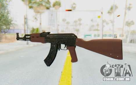 GTA 5 Shrewsbury Assault Rifle para GTA San Andreas terceira tela