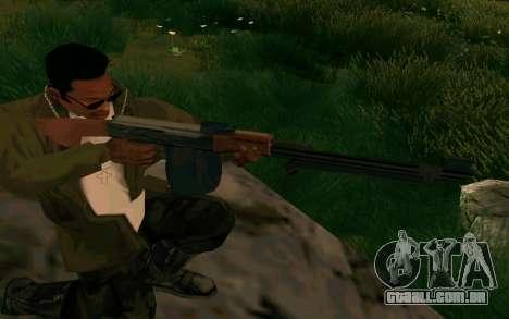 O PKK para GTA San Andreas por diante tela