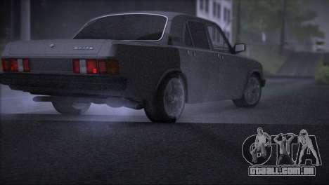 V8 de GÁS 31029 para GTA San Andreas vista direita